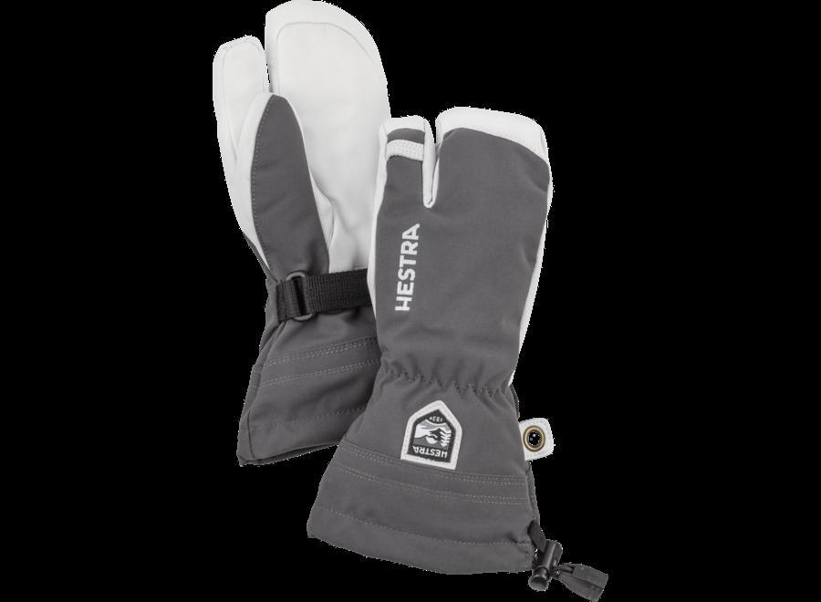 Army Leather Heli Ski Jr 3-finger