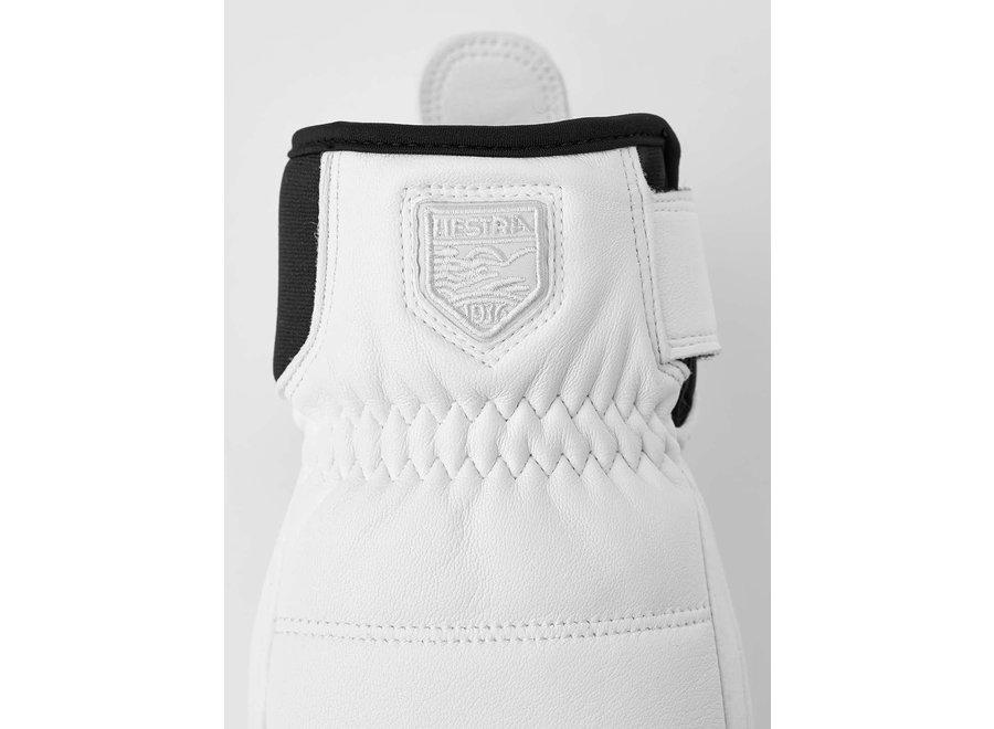 Alpine Leather Primaloft Glove White