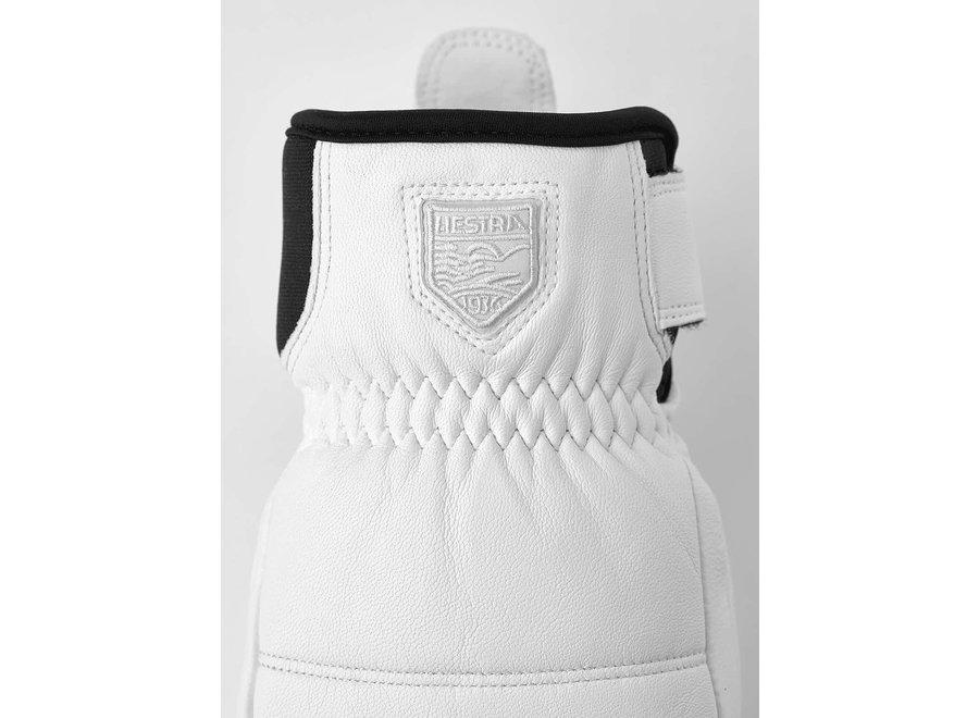 Alpine Leather Primaloft Mitt White