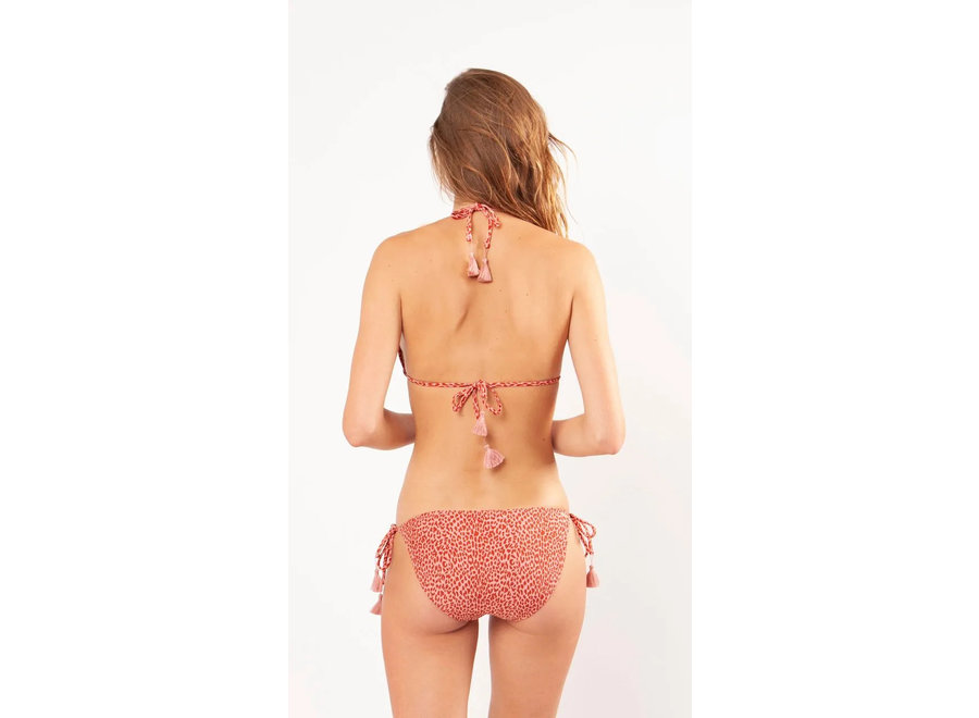 Bathers Triangle Dusty Pink