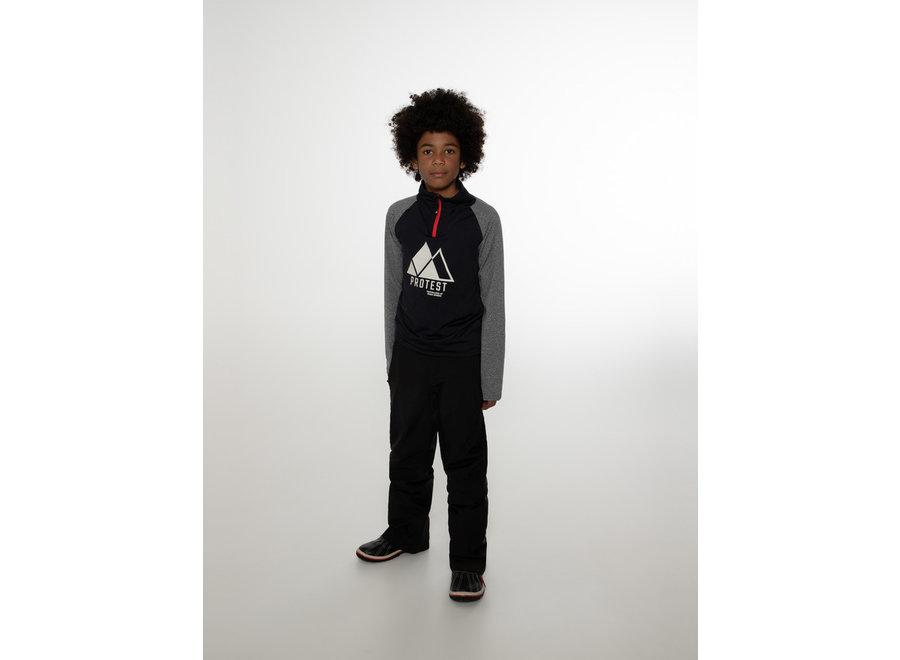 Ricoe JR Stretch Zip Black