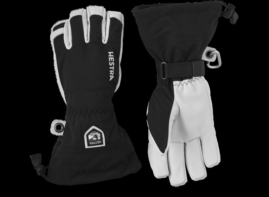 Army Leather Heli Ski Glove zwart