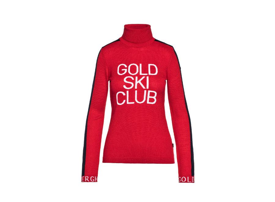 Club Sweater RubyRed