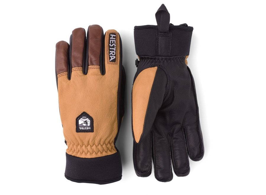 Army Leather Wool Terry Glove
