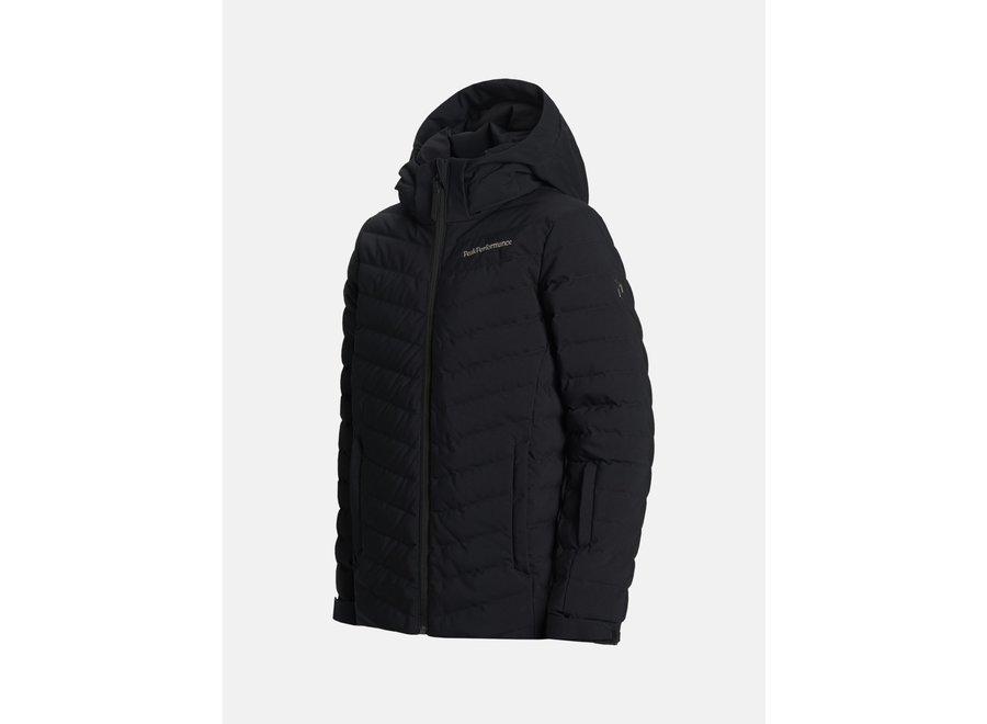 JR Frost Ski Jacket Black