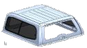Isuzu Isuzu D-Max (2012-2016) V2 Singlecab Glass Slide WIndow