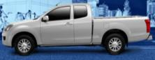 Isuzu Isuzu D-Max (2012-2016) V2 Singlecab Solid Bird WIndow