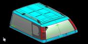 Isuzu Isuzu D-Max (2017-) V4 Singlecab Glass Fix & Slide WIndow