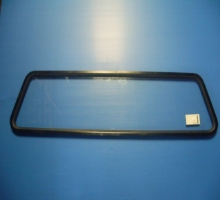 Front Non-Tinted fixed glass