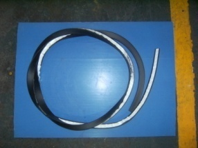 Rubber seal for window