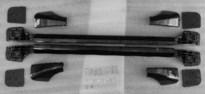 Roof rail set