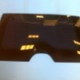 Nissan Rear tinted glass w. defroster w/o hole