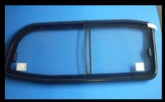 Isuzu Left side Non-Tinted sliding glass