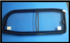 Toyota Left side Non-Tinted sliding glass