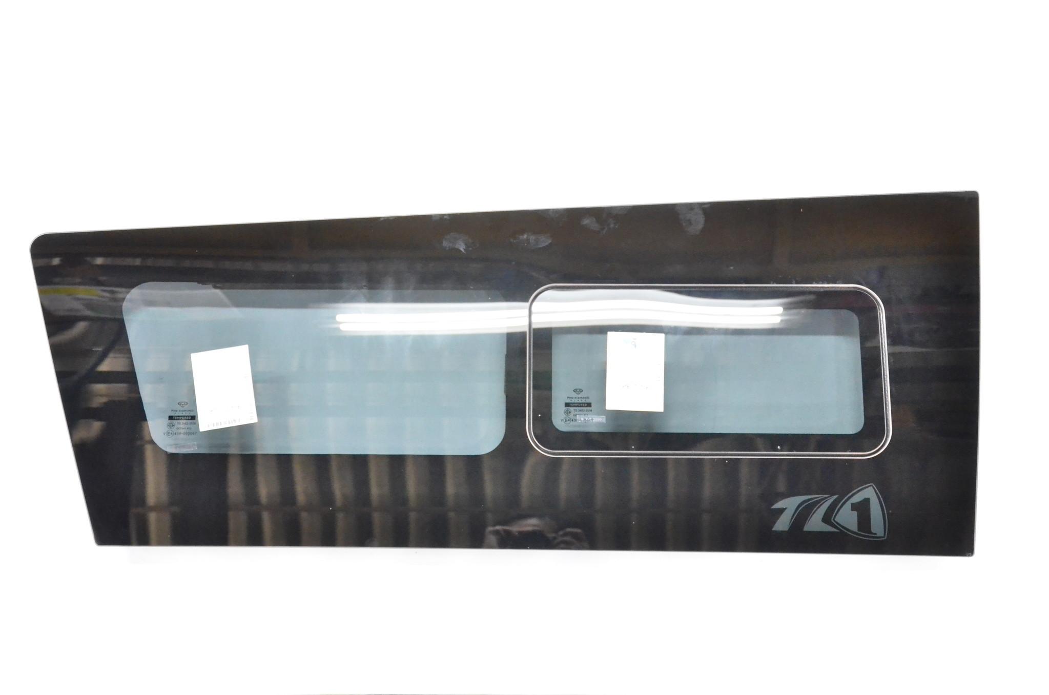 glass fix&slide window set LH  TL-1