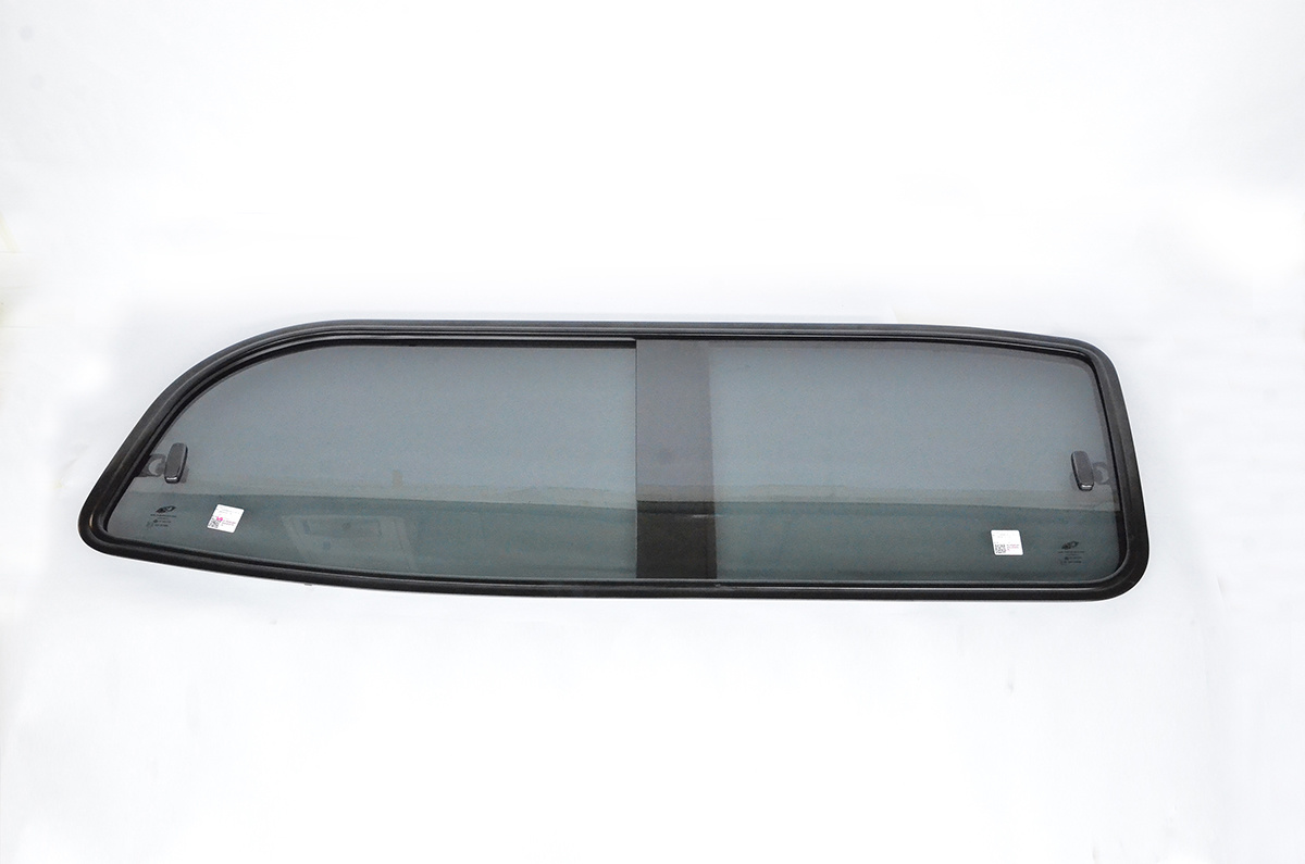 Right side sliding tinted glass