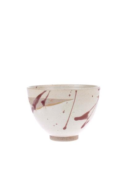 Kom kyoto ceramics: spatter bowl