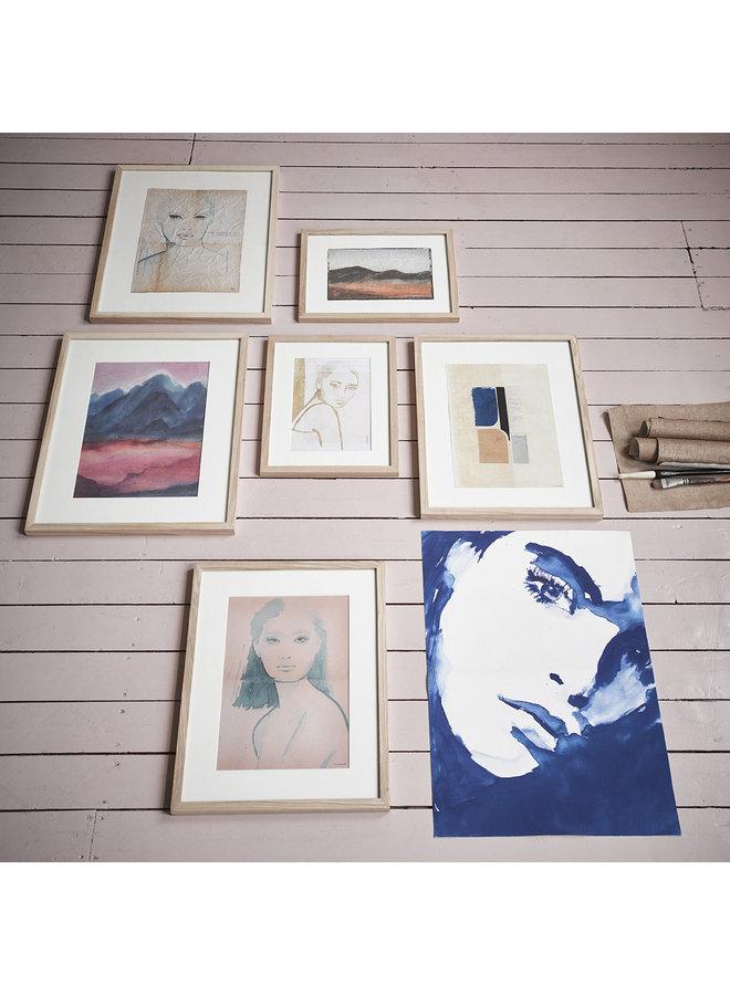 Wanddecoratie tiny art frame l: emma