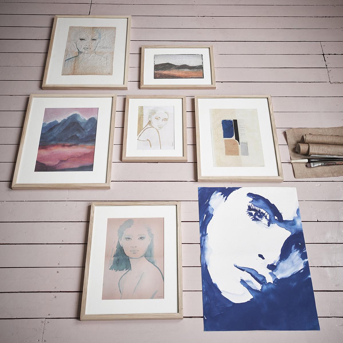 Wandschilderij tiny art frame l: emma-2