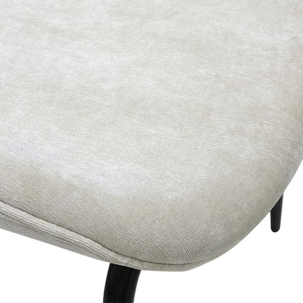 Stoel dining chair rib crème-3