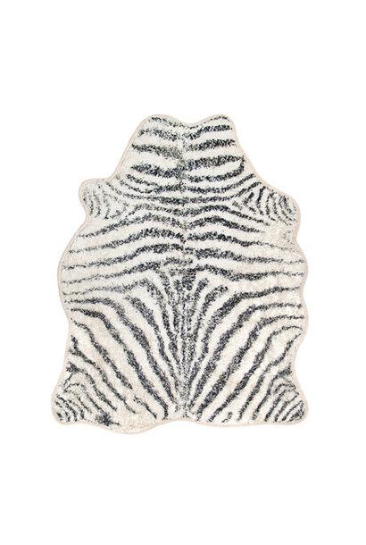 Badmat zebra 85x100cm Grey