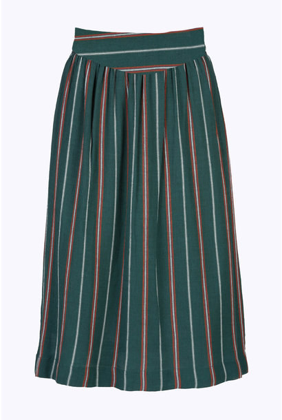Rok angel stripe skirt 465 dark green