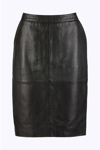 Rok basic leather Black