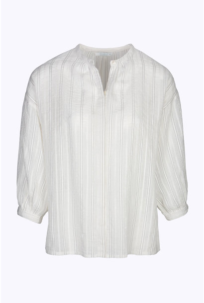 Blouse cecile lurex blouse 010 off white