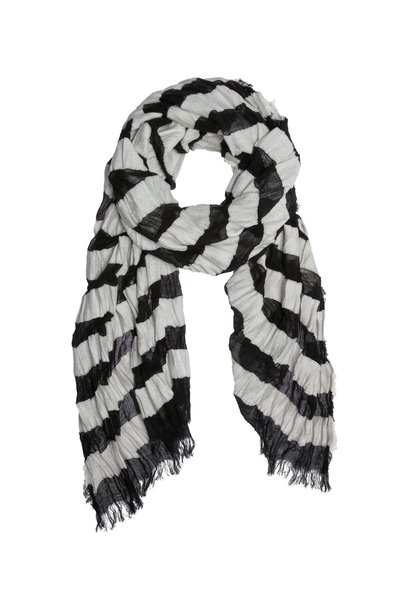 Sjaal stripe Black