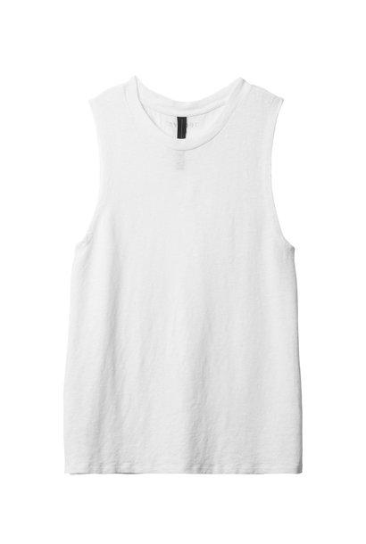 Top Sleeveless 1001 white
