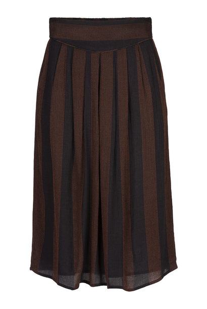 Rok romee long stitch skirt  860 black