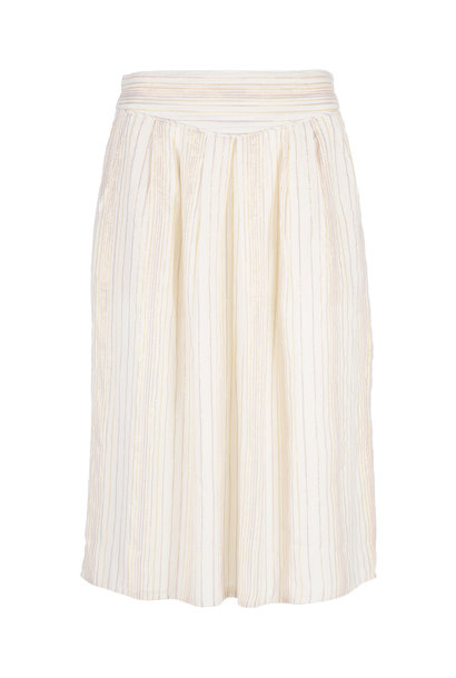 Rok romee sparkle skirt  010 off white