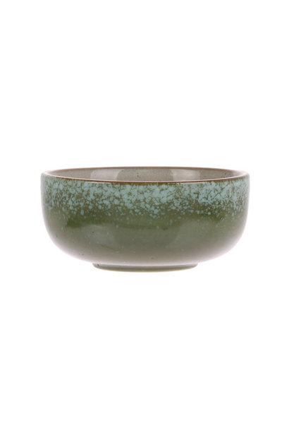 Kom ceramic 70's bowl medium: grass