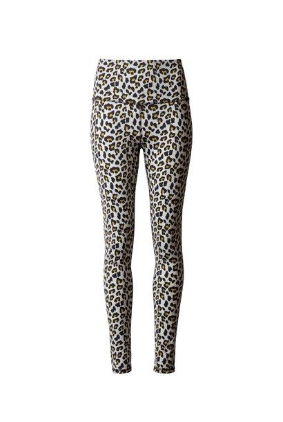Legging Yoga leopard  bone