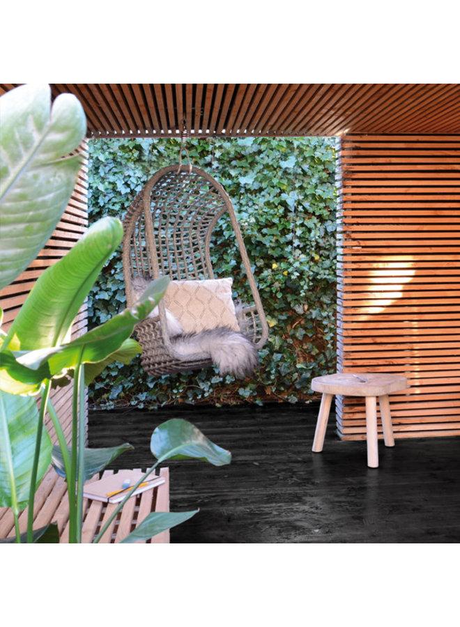 Hangstoel outdoor 72x55x110cm Grey