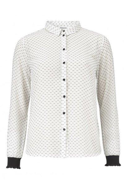 Blouse Odin shirt 00007 off white