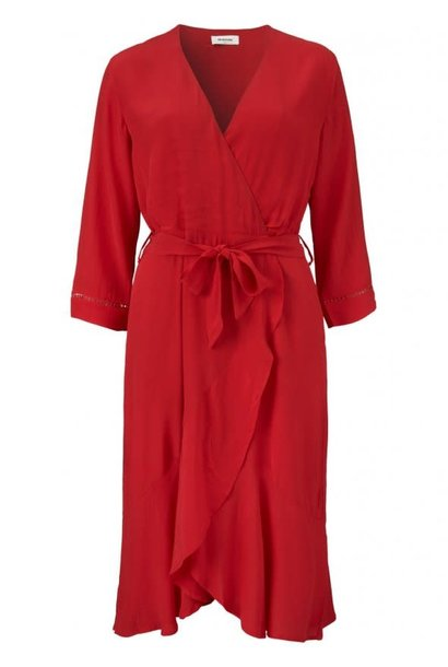 Jurk Olympus dress 01175 racing red