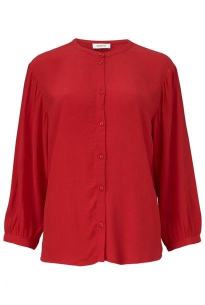 Blouse Olympus shirt 01175 racing red