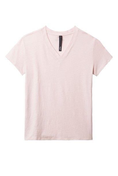 T-shirt, V-Neck tee powder
