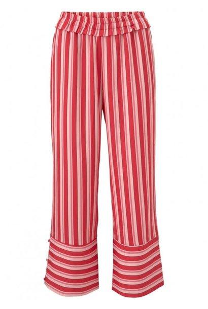 Broek Ora print pants 11922  summer stripes