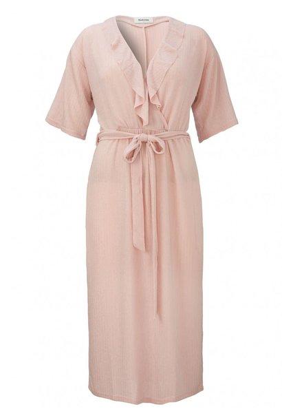Jurk Caisa dress 01036 frosty roze