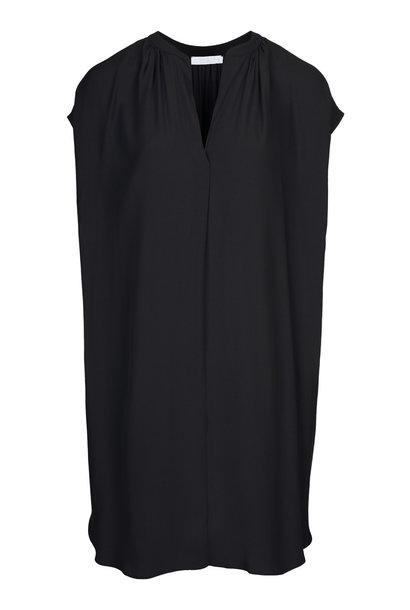 Jurk victoria crepe dress  860 black