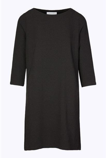 Jurk zen dress crepe 860 black