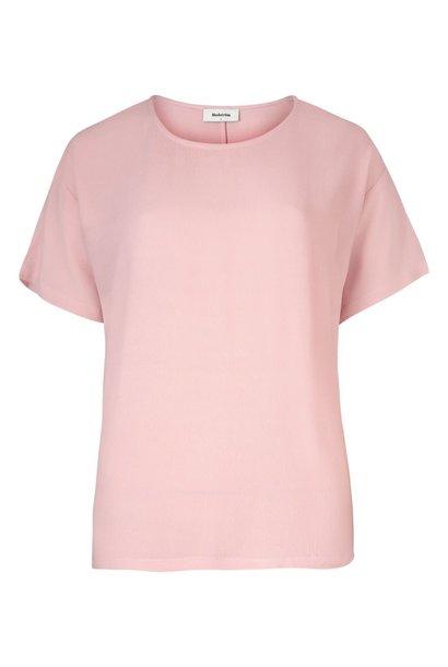 T-shirt geo top 01036 frosty roze