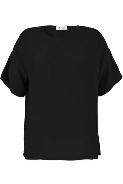 T-shirt geo top 07090 black