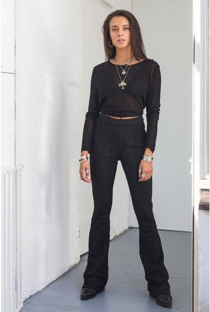 Broek Julie lace pants black