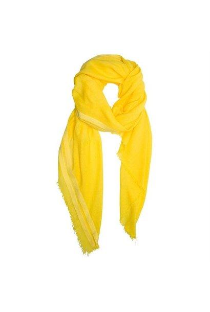 Sjaal yellow