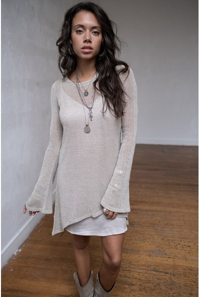 Jurk Amina Knitted beige