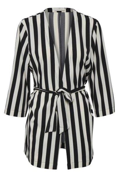 Vest Kimono KAalva 50600 black deep