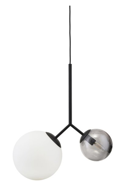 Hanglamp lamp twice black 70cm